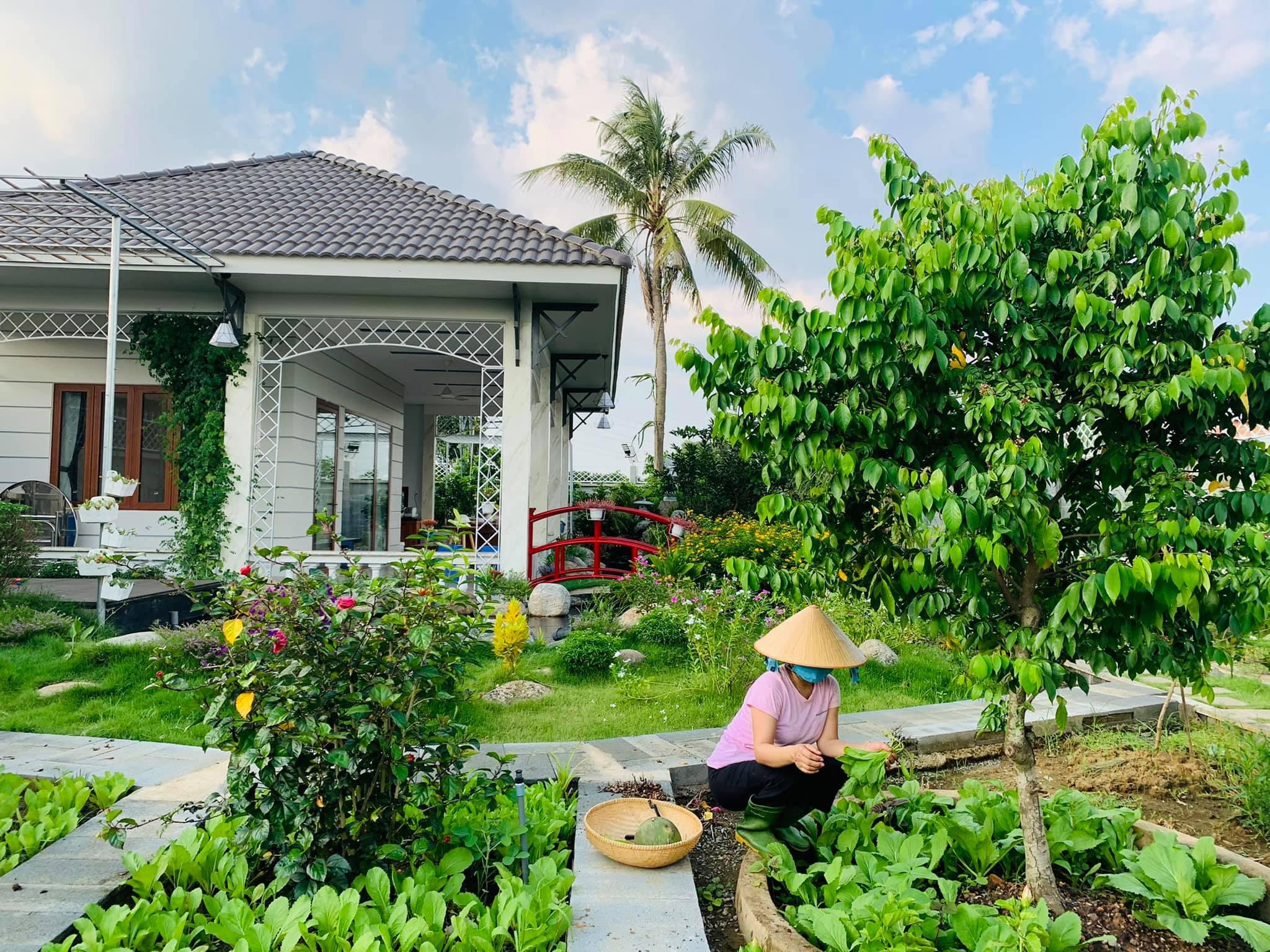 Khu vườn 720m2 đẹp như resort thu nhỏ người chồng tặng vợ ở Đồng Nai - 4
