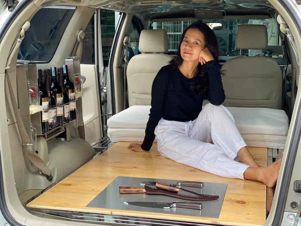 Hô biến ô tô thành nhà di động, đưa bạn gái du lịch khắp Việt Nam - 3
