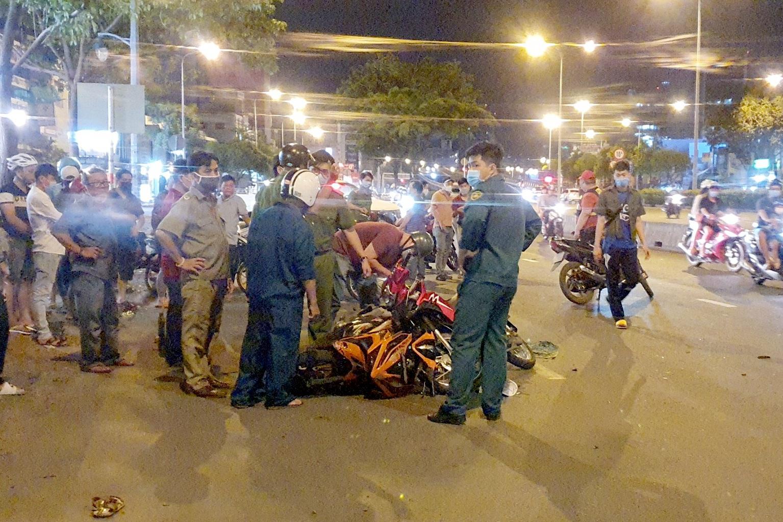 Nghi án tên cướp gặp tai nạn tử vong sau khi giật điện thoại - 3
