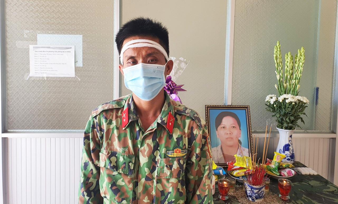Mẹ mất đột ngột, chiến sĩ nén đau thương ở đơn vị làm nhiệm vụ chống dịch - 4