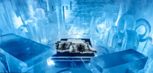 Kinh ngạc với khách sạn làm từ băng tuyết, lạnh giá bốn mùa - 3