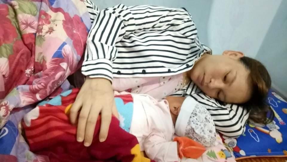 Nơi ở bị phong tỏa, nữ công nhân ở Bắc Giang sinh con ngay tại nhà trọ - 2
