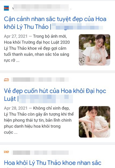 Lật mặt cô gái mạo danh Hoa khôi Đại học Luật Hà Nội - 2