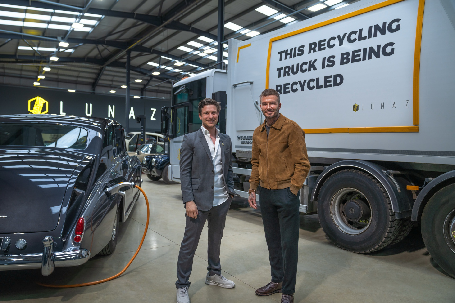 Đón đầu xu hướng, David Beckham rót tiền vào hãng xe điện - 3