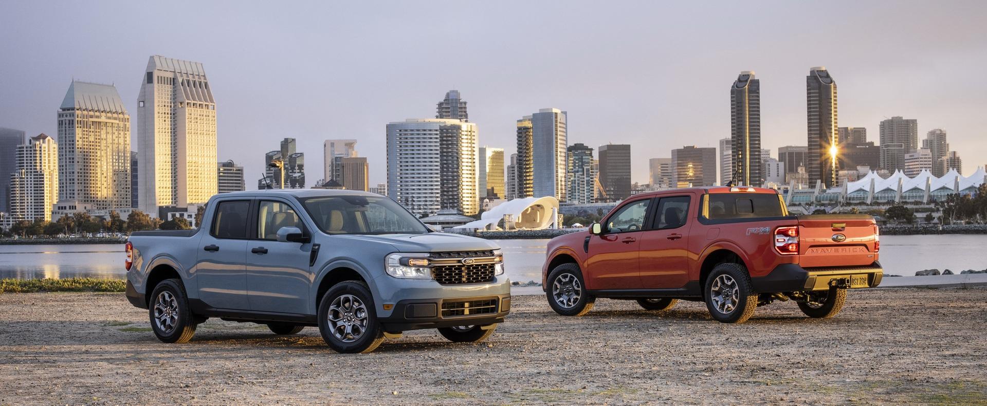 Ford ra mắt mẫu xe bán tải Maverick nhỏ hơn Ranger - 45