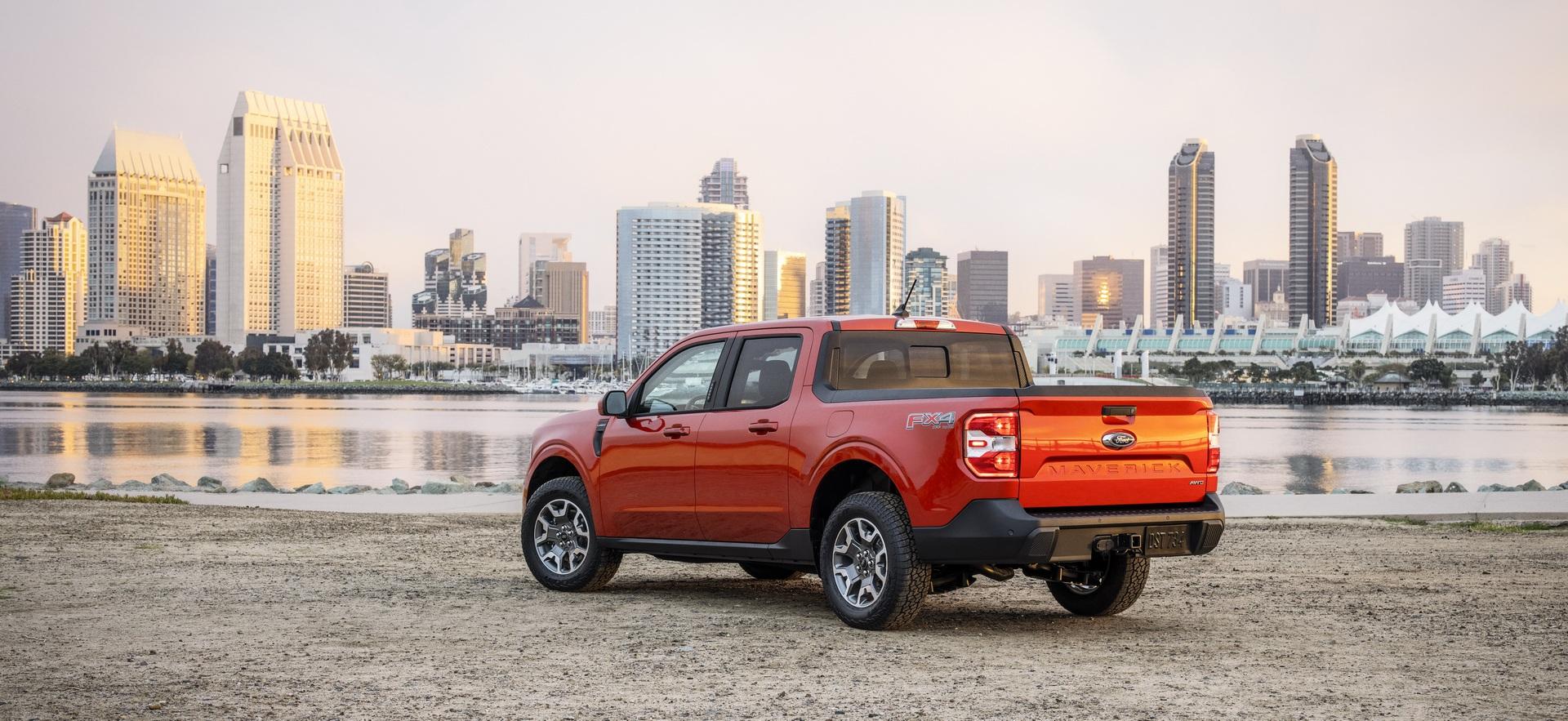 Ford ra mắt mẫu xe bán tải Maverick nhỏ hơn Ranger - 9
