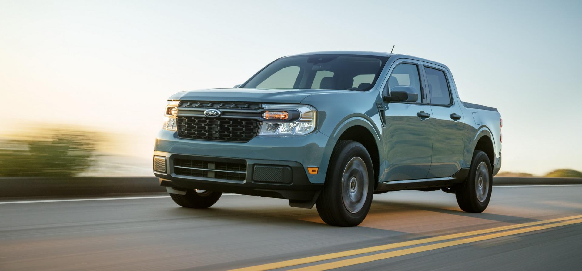 Ford ra mắt mẫu xe bán tải Maverick nhỏ hơn Ranger - 1