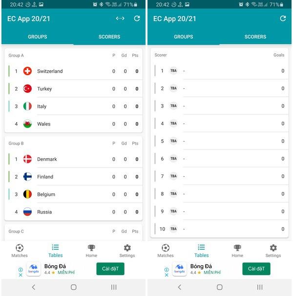 Ứng dụng lịch thông minh giúp bạn không bỏ lỡ trận đấu nào tại Euro 2020 - 4