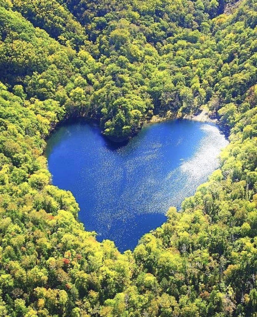 Hồ nước hình trái tim lãng mạn nhất Nhật Bản - 1