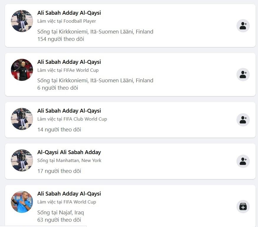 Dân mạng Việt đua nhau làm giả trang Facebook trọng tài chính người Iraq - 2