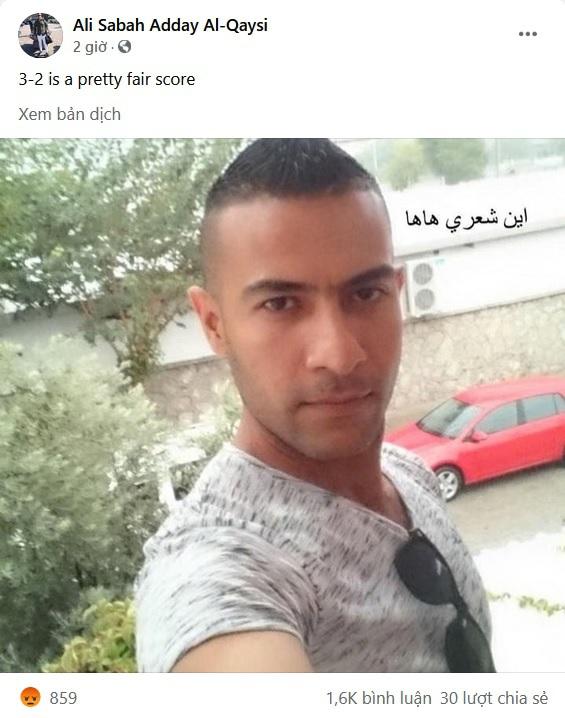 Dân mạng Việt đua nhau làm giả trang Facebook trọng tài chính người Iraq - 4