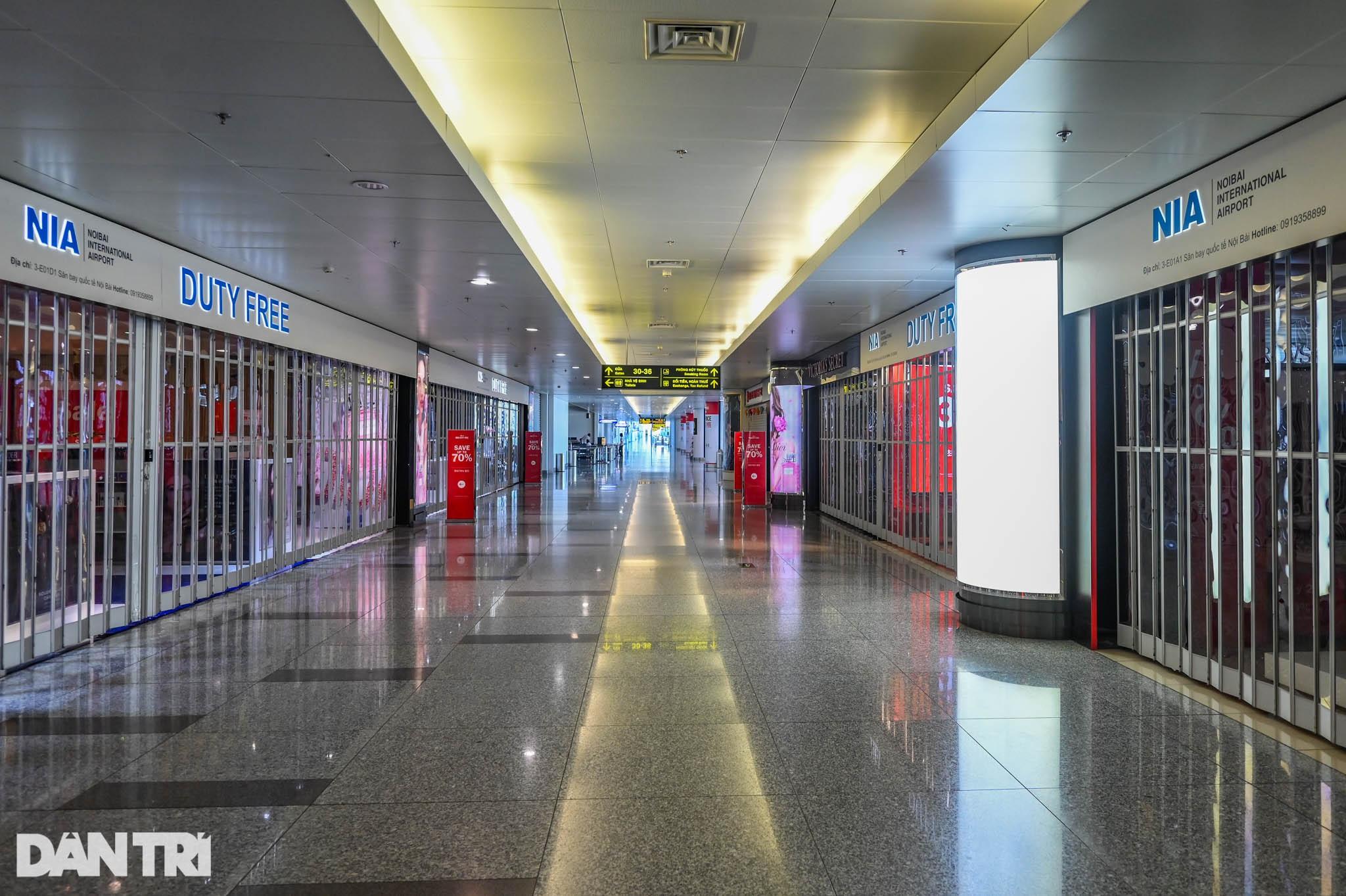 Cảnh tượng khác lạ tại ga quốc tế Nội Bài: Vắng lặng như bị bỏ quên - 11