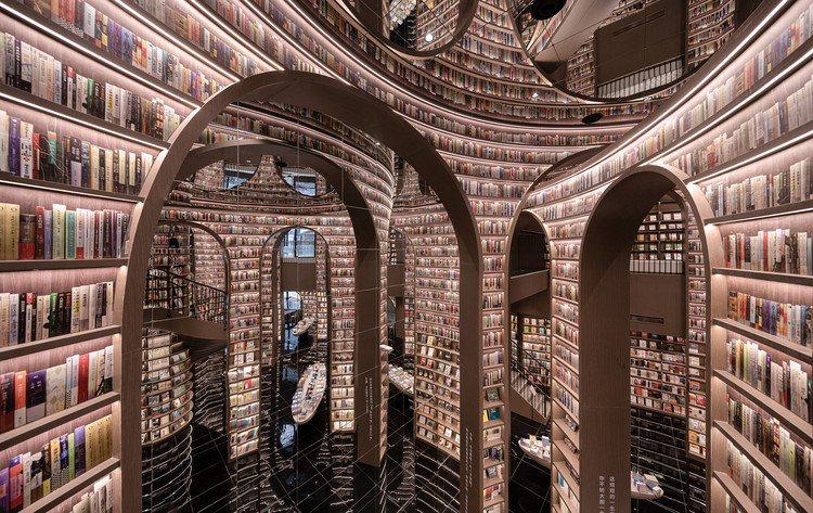 Thư viện vô cực hút khách nhờ tuyệt chiêu đánh lừa thị giác - 1