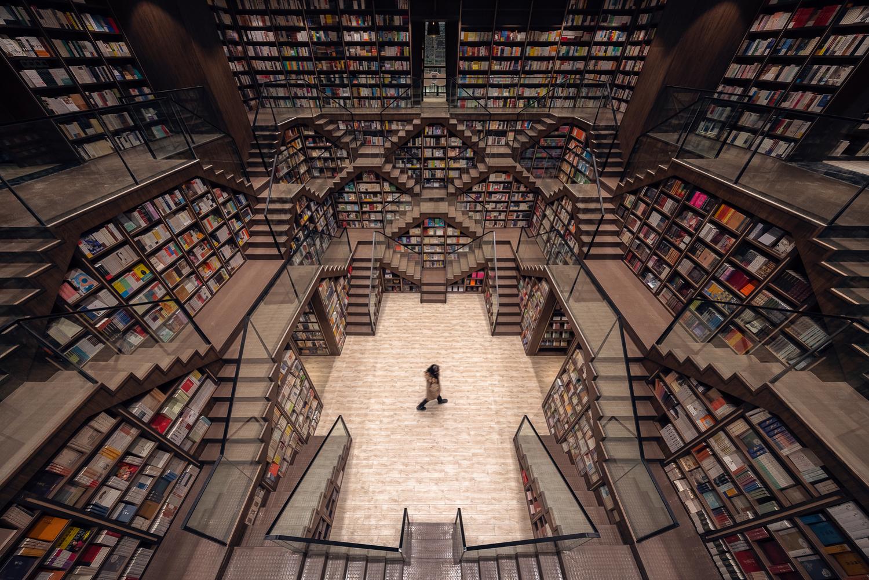 Thư viện vô cực hút khách nhờ tuyệt chiêu đánh lừa thị giác - 3