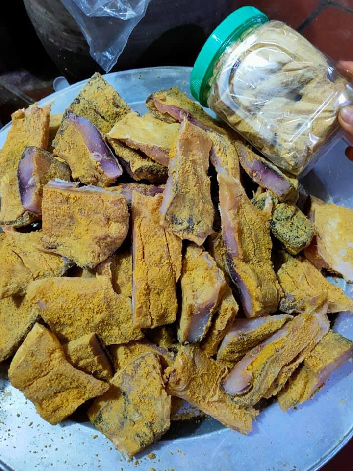 Kỳ công món đặc sản cá muối chua bằng thính gạo ở Vĩnh Phúc - 5