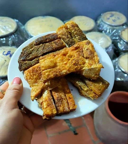 Kỳ công món đặc sản cá muối chua bằng thính gạo ở Vĩnh Phúc - 1