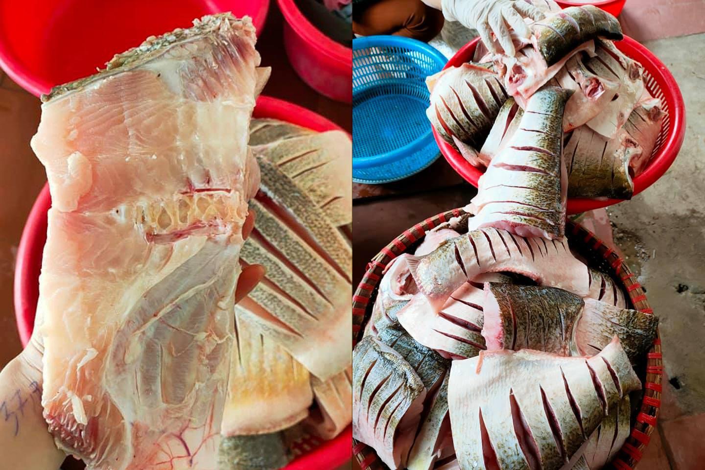 Kỳ công món đặc sản cá muối chua bằng thính gạo ở Vĩnh Phúc - 2