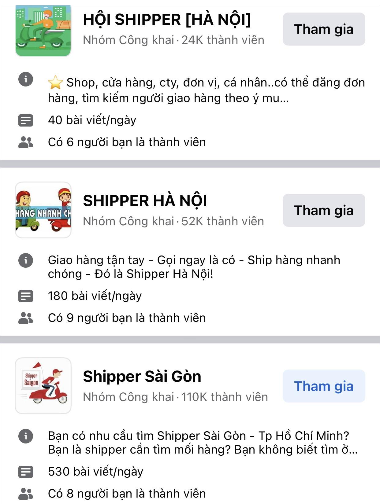 Có những loại shipper nào? - 3