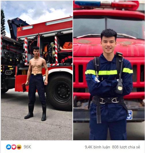 Cực phẩm lính cứu hỏa Lạng Sơn body 6 múi, thần thái như diễn viên - 1