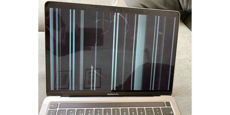Nhiều MacBook M1 bị nứt màn hình không rõ nguyên nhân - 1