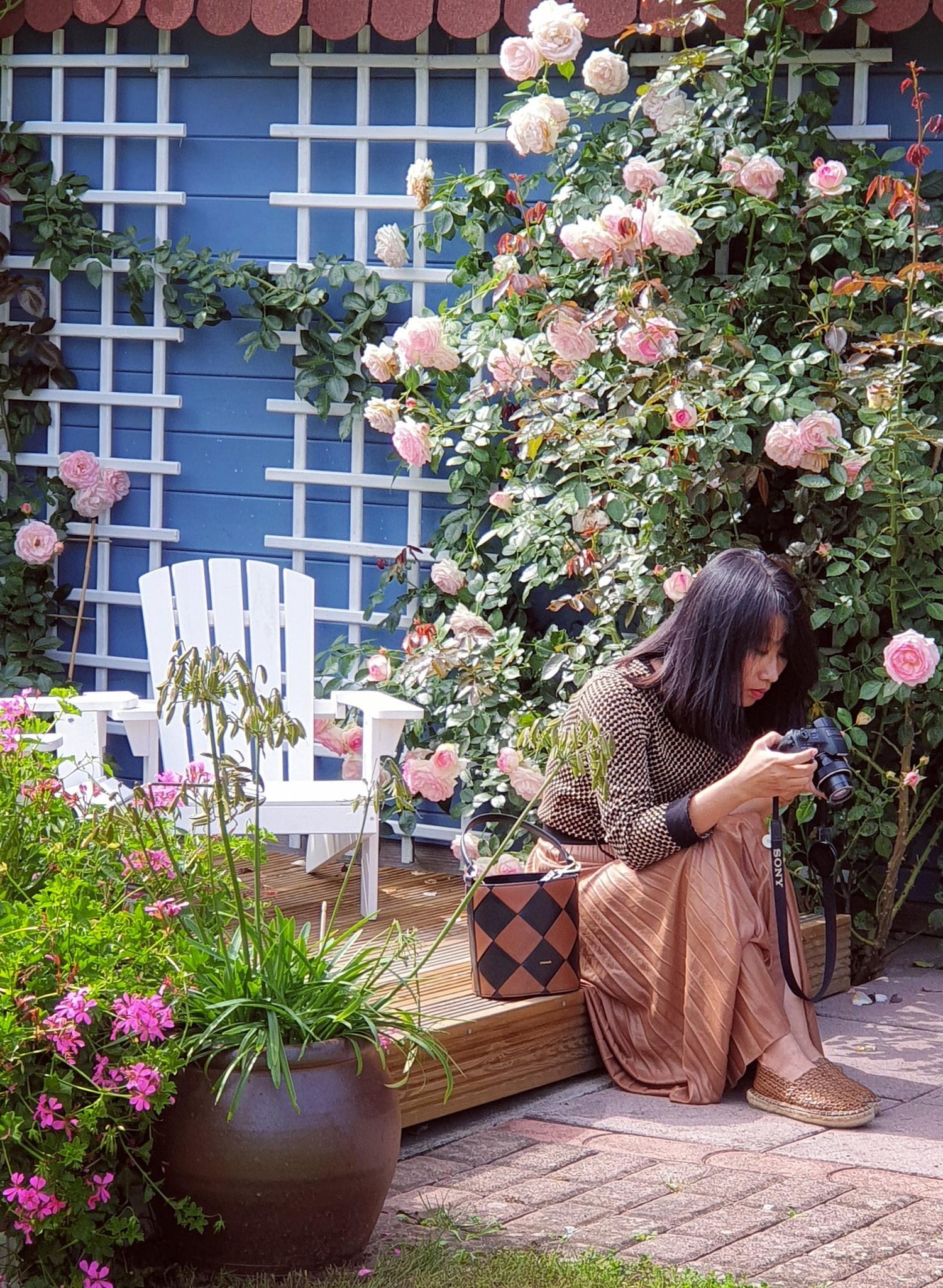 Mãn nhãn nhà vườn triệu bông hồng đẹp như cổ tích của mẹ Việt ở Đức - 12