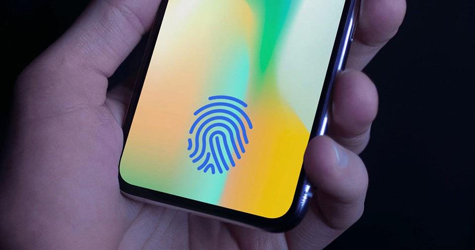 iPhone sắp có Face ID và Touch ID dưới màn hình - 1