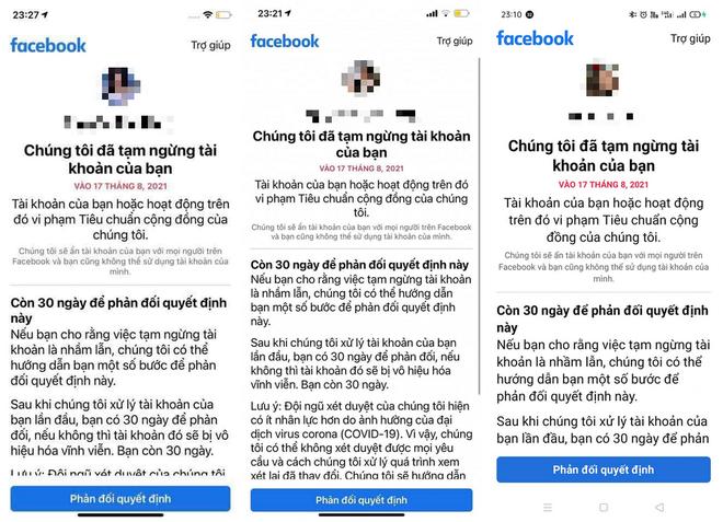 Facebook nói gì về hàng loạt tài khoản người Việt bị khóa vào tuần trước? - 2