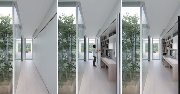Ngôi nhà có cách giấu đồ nội thất dọc hành lang độc đáo - 3