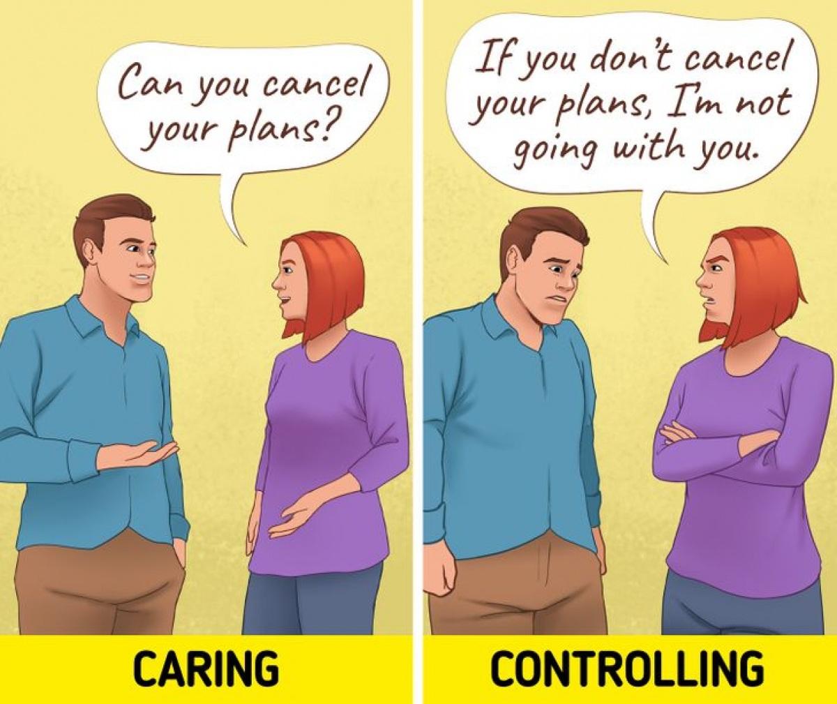 Ranh giới giữa quan tâm và kiểm soát trong một mối quan hệ - 1