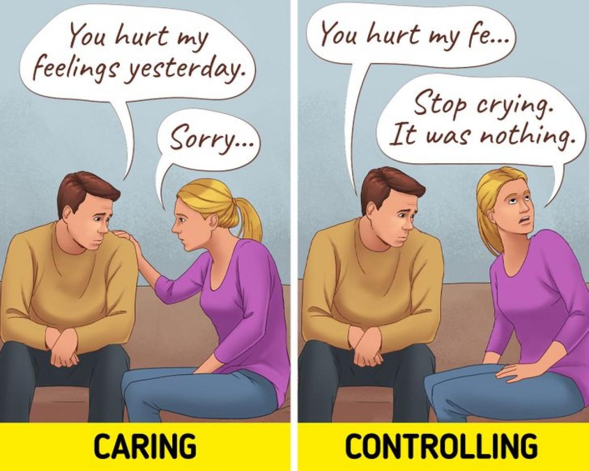 Ranh giới giữa quan tâm và kiểm soát trong một mối quan hệ - 2