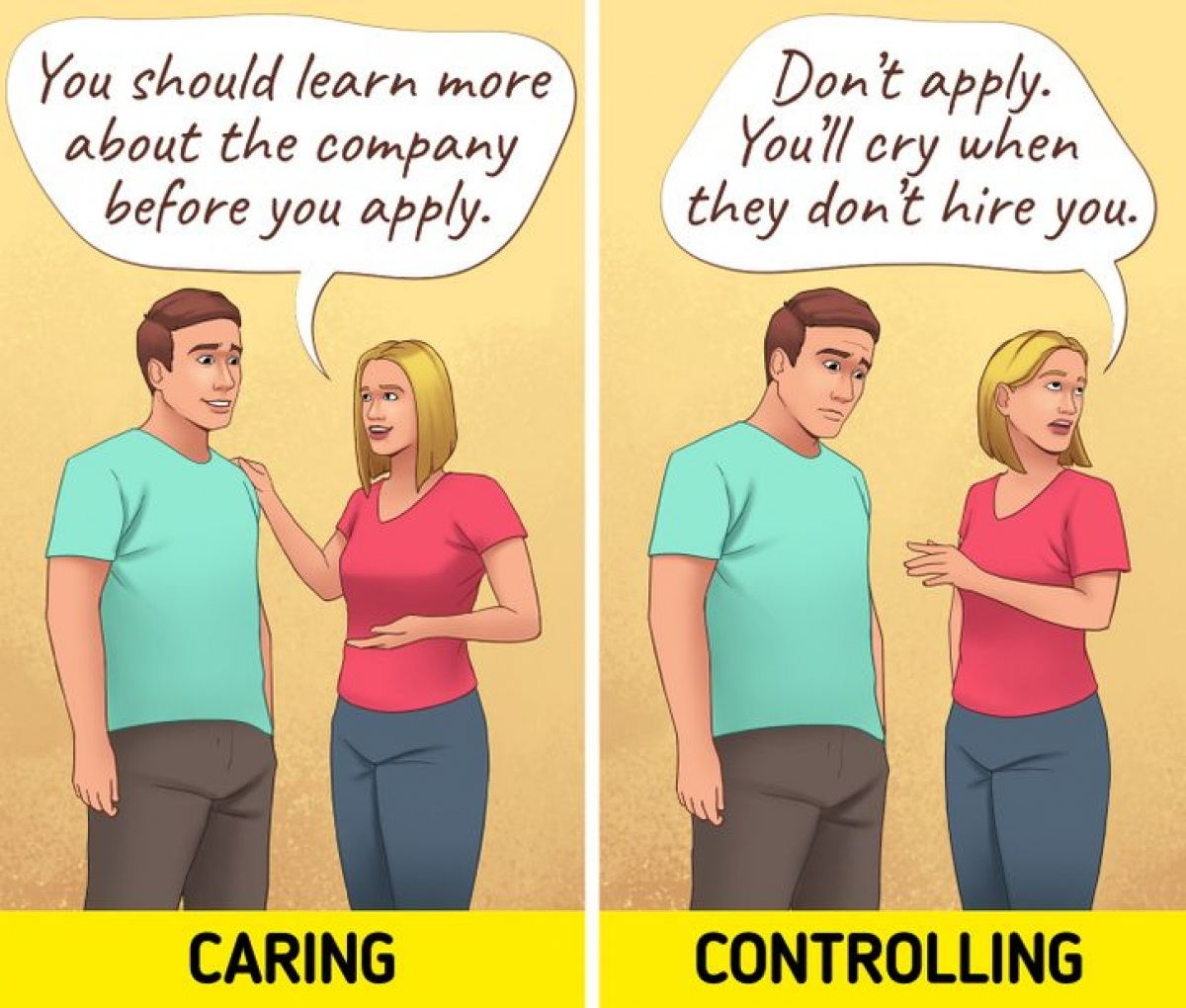 Ranh giới giữa quan tâm và kiểm soát trong một mối quan hệ - 3
