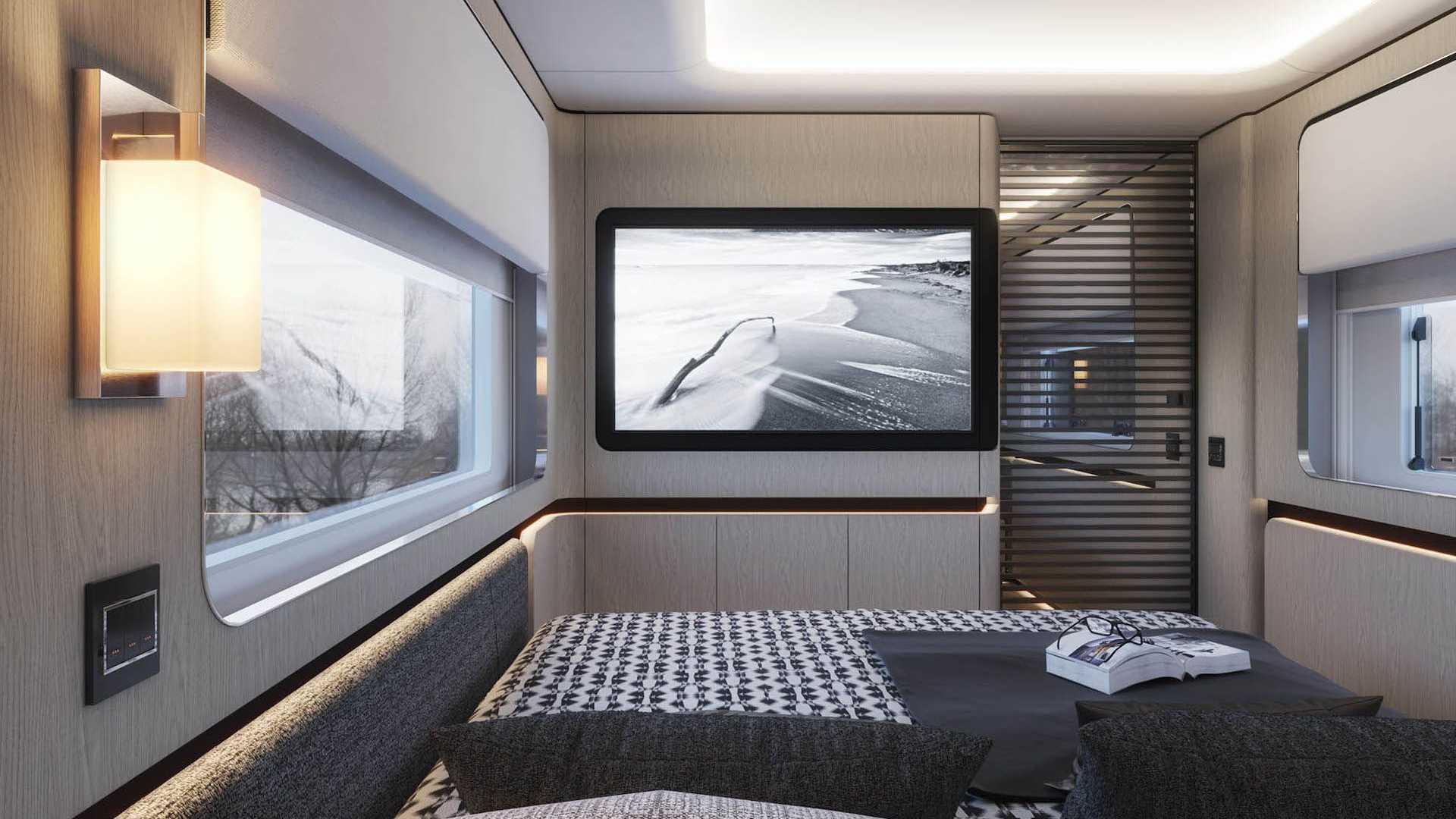 Chiêm ngưỡng Dembell Motorhome: Biệt thự di động trị giá 2 triệu Euro - 3