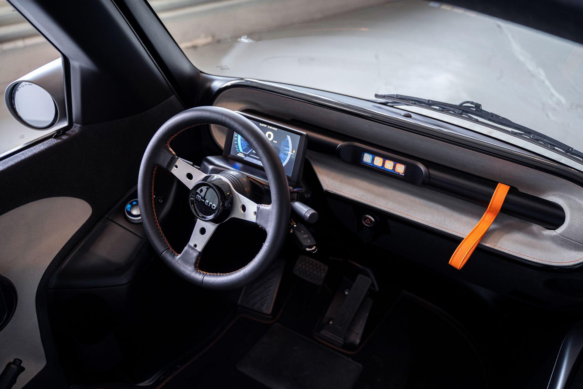 Xe điện tí hon Microlino 2.0 tái sinh huyền thoại BMW Isetta - 3