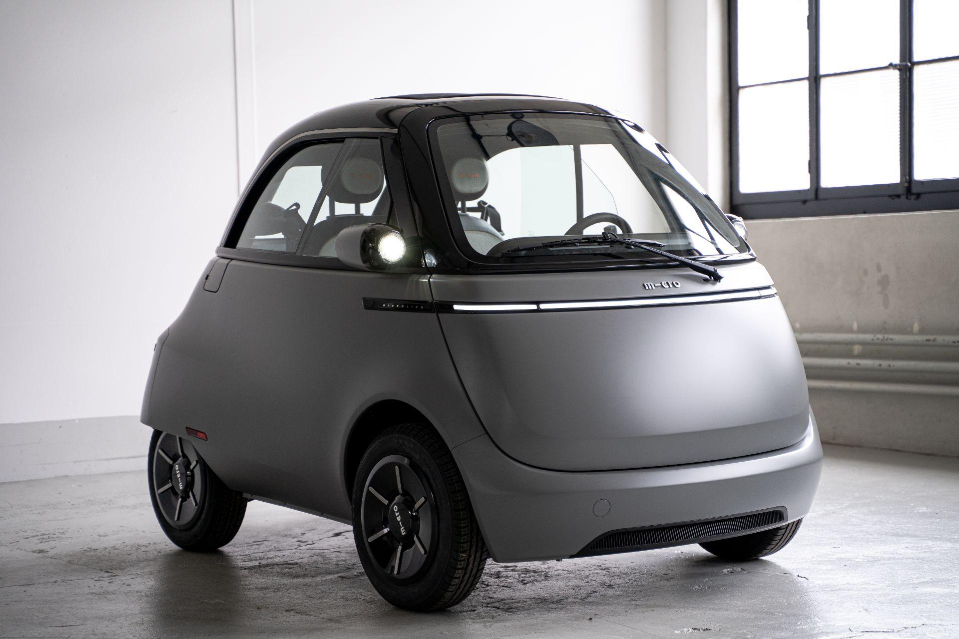 Xe điện tí hon Microlino 2.0 tái sinh huyền thoại BMW Isetta - 6