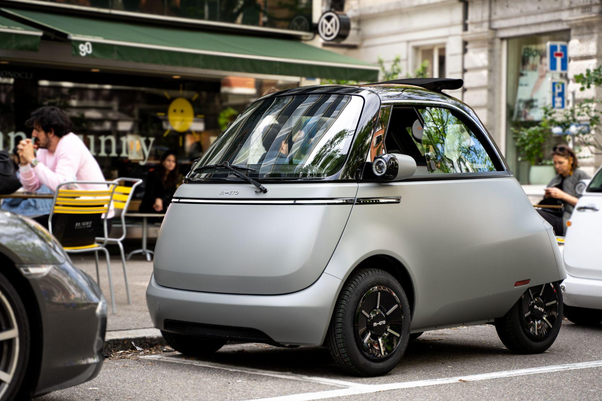 Xe điện tí hon Microlino 2.0 tái sinh huyền thoại BMW Isetta - 4