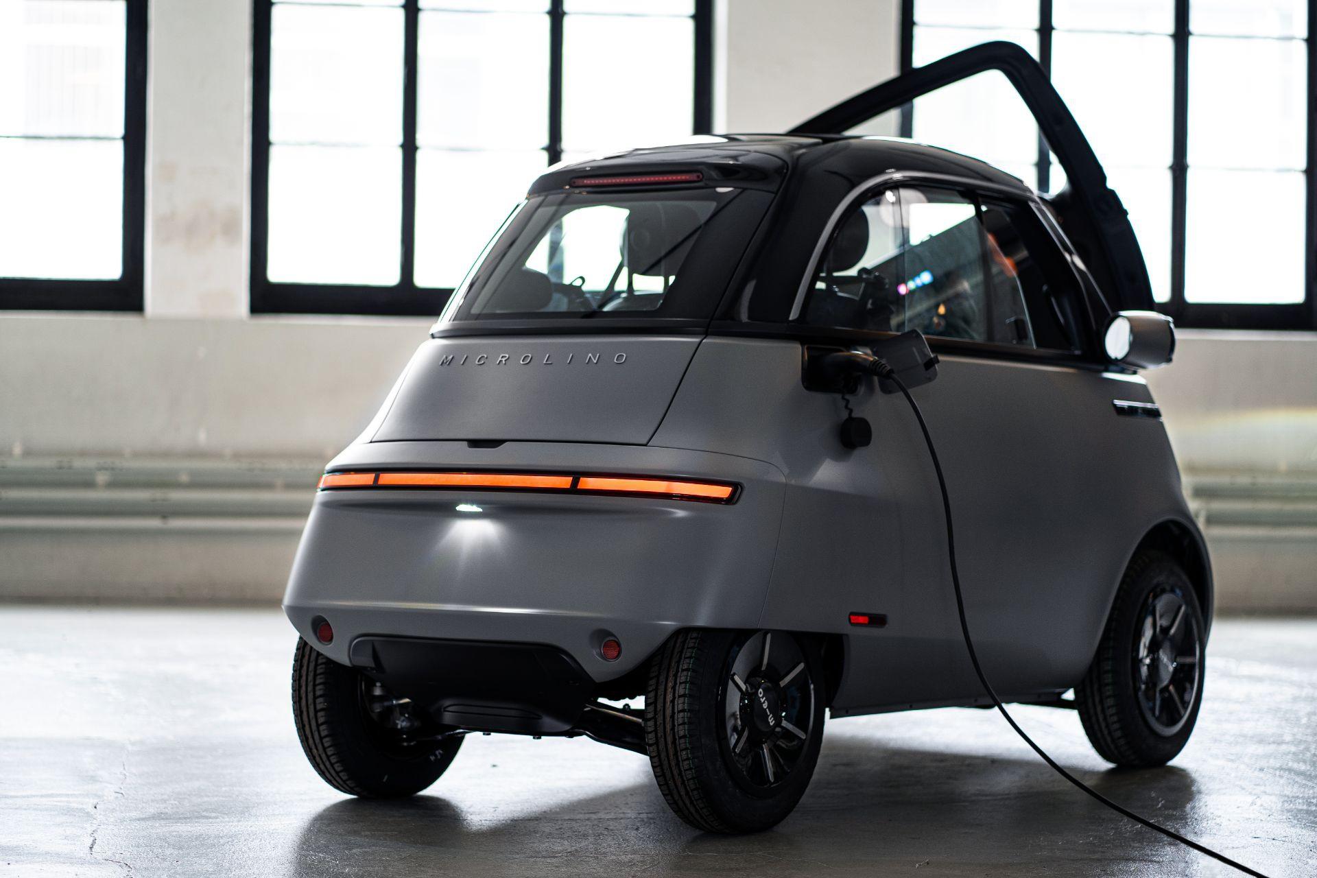 Xe điện tí hon Microlino 2.0 tái sinh huyền thoại BMW Isetta - 5
