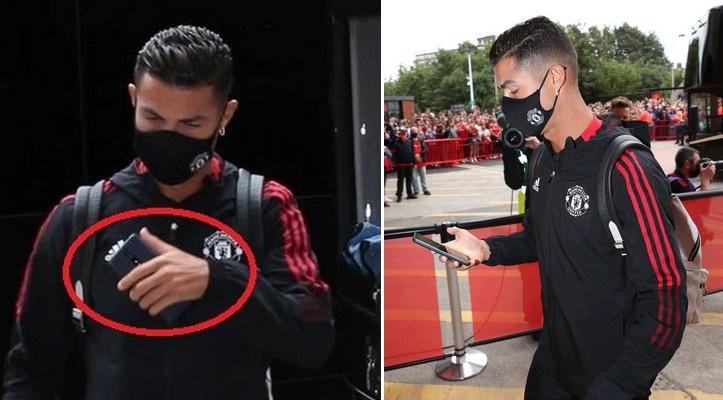 Thu nhập khủng, Ronaldo vẫn dùng chiếc smartphone ra mắt từ 4 năm trước - 1