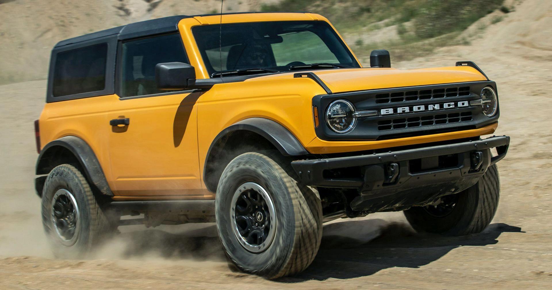 Kỳ lạ Ford Bronco 2021 hàng lướt có giá bán cao gấp đôi giá niêm yết - 1