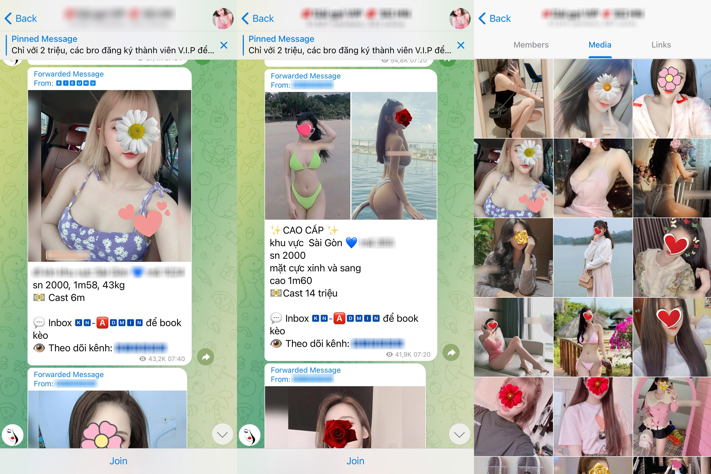 Telegram trở thành ổ chứa mại dâm tại Việt Nam - 2