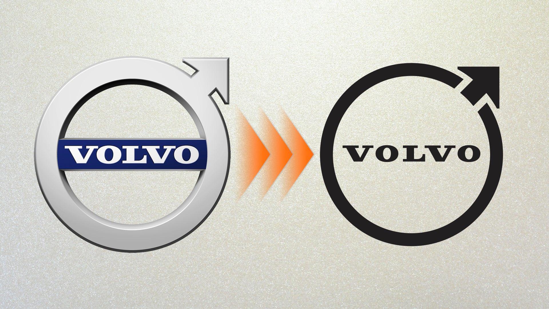 Volvo âm thầm thay đổi logo - 1