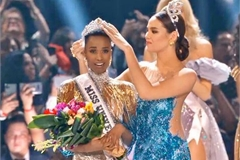 Vietnam's Hoang Thuy finishes in the Miss Universe 2019 top 20