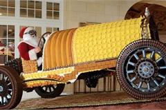 Chiếc xe đua Pierce-Arrow 1918 đặc biệt làm bằng bánh tráng miệng