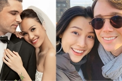 Hạnh phúc đáng ngưỡng mộ của 2 MC Việt xinh đẹp lấy chồng Tây năm 2019