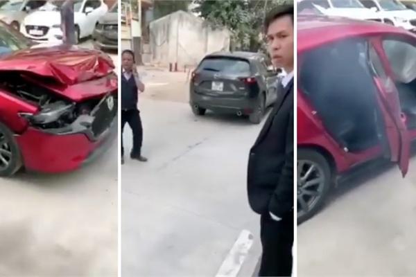 Xe gây tai nạn khi thử nghiệm tính năng phanh khẩn cấp tự động?
