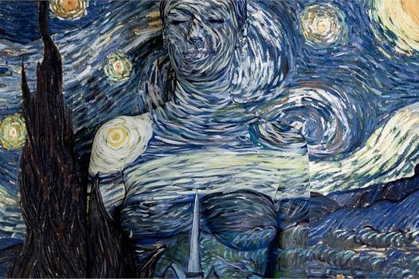 Người mẫu khỏa thân 'nhập vào' những siêu phẩm hội họa