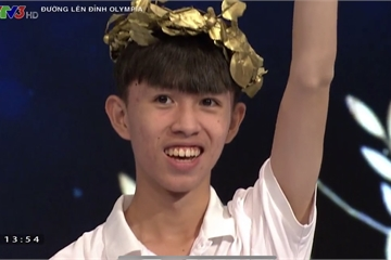Thắng áp đảo, chàng trai khiến đối thủ vòng thi Tháng Olympia nể phục
