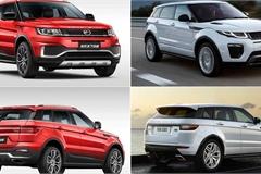 Điểm mặt những mẫu ô tô Trung Quốc bị tố đạo nhái