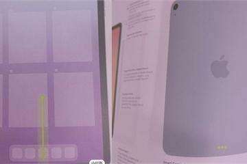 Lộ ảnh thiết kế iPad Air 4 với viền màn hình mỏng