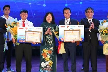 3 sáng kiến giáo dục giành giải thưởng 100 triệu đồng