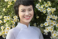 Nữ sinh Ngoại thương chữa khỏi ung thư xuất hiện với vẻ đẹp rạng rỡ